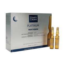 Tinh chất tái tạo và dưỡng ẩm da ban đêm MartiDerm Platinum Night Renew