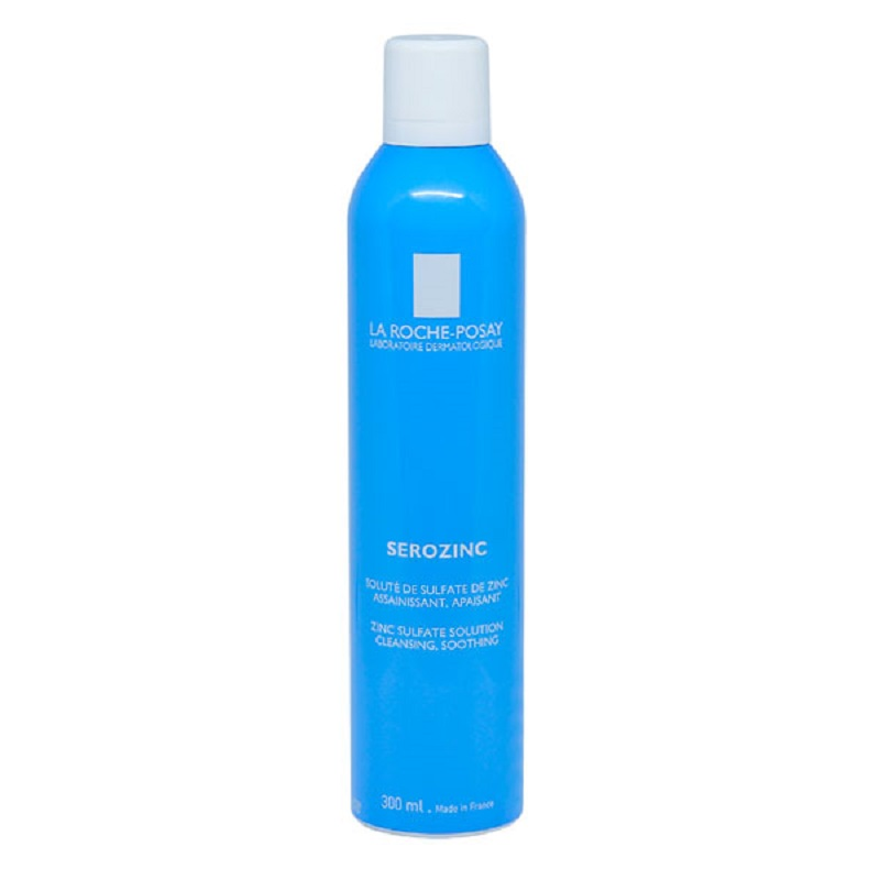 Nước Xịt Khoáng La Roche-Posay Serozinc Zinc Sulfate Solution Cleansing  Soothing 300ml