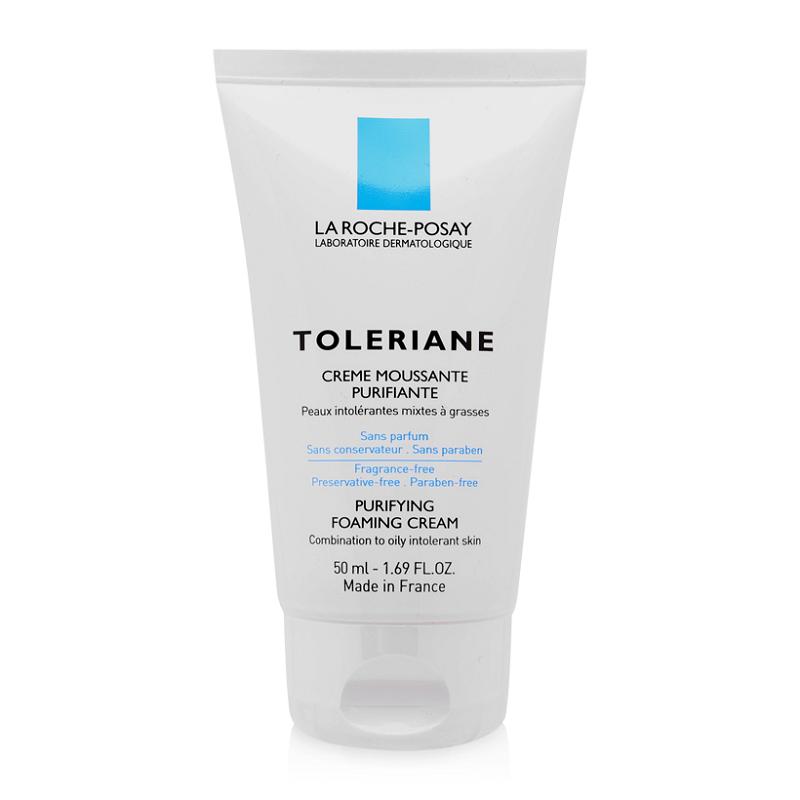 Sữa Rửa Mặt Tạo Bọt La Roche-Posay Toleriane Purifying Foaming Cream 50ml