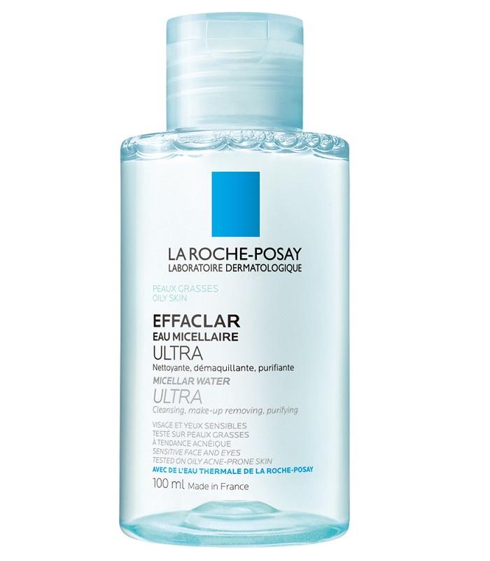Nước tẩy trang cho da dầu La Roche-Posay Effaclar Micellar Water Ultra Oily Skin 100ml