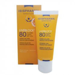 Kem chống nắng Isis Pharma Uveblock 80 Invisible Cream SPF 50+
