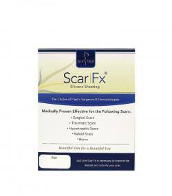 Tấm dán trị sẹo phẩu thuật thu nhỏ bầu ngực theo kỹ thuật neo Scar Fx Silicone Sheeting