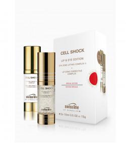 Bộ sản phẩm chống lão hóa mắt và môi Swissline Eyes & Lips Special Edition