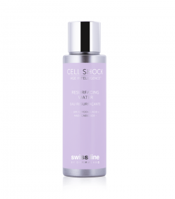 Tinh chất tẩy da chết Swissline Cell Shock  Age Intelligence™ Resurfacing Water 10% Glycolic Acid + Madecassoside