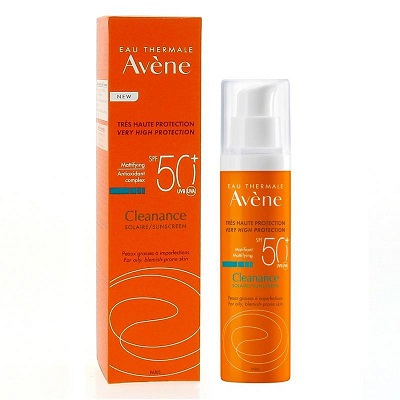Kem chống nắng cho da nhờn, mụn Avene Cleanance Solaire Sunscreen SPF50