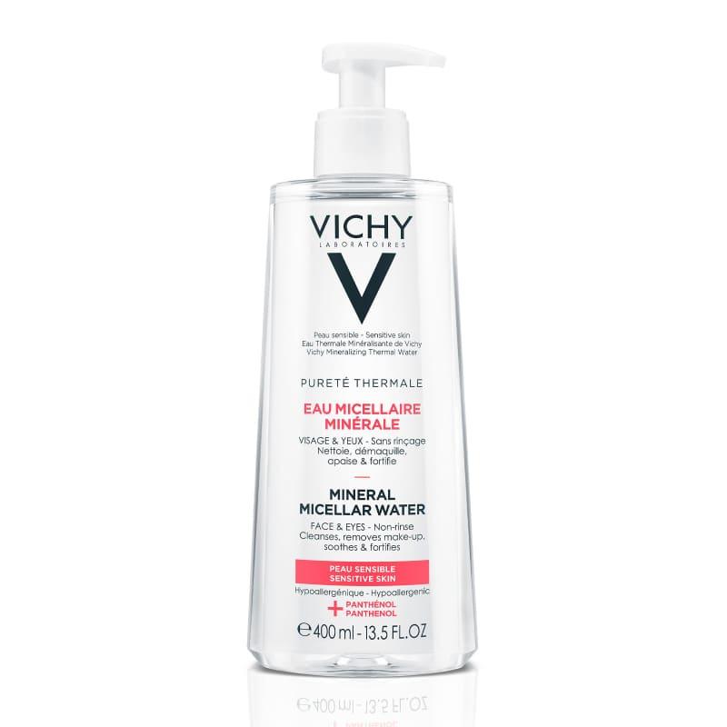 Nước tẩy trang cho da nhạy cảm Vichy Purete Thermale Mineral Micellar Water