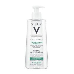 Nước tẩy trang cho da dầu, da hỗn hợp Vichy Purete Thermale Mineral Micellar water Combination To Oily Skin