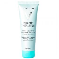 Sữa rửa mặt tạo bọt dạng kem chống ô nhiễm Vichy Purete Thermale Hydrating and Cleansing Foaming Cream