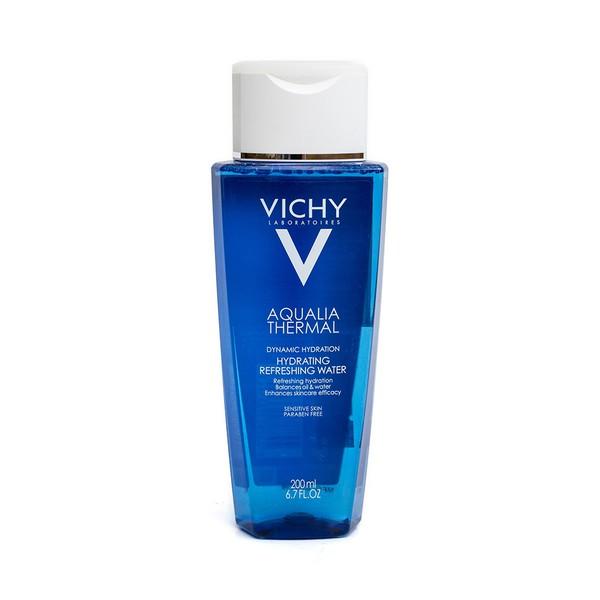 Nước hoa hồng thải độc tố, làm mềm da Vichy Aqualia Thermal Hydrating Refreshing Water