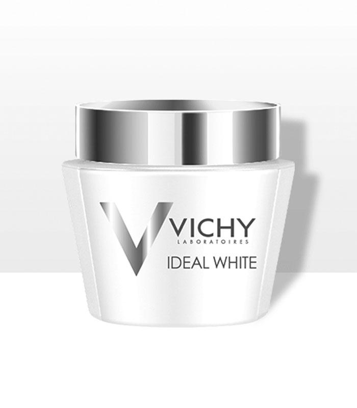 Kem dưỡng trắng da ban đêm - mặt nạ ngủ Vichy Ideal White Sleeping Mask P75ML EN