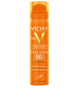 Xịt khoáng chống nắng giảm dầu, khô thoáng & không gây nhờn rít Vichy Is SPF 50 Haute Protection