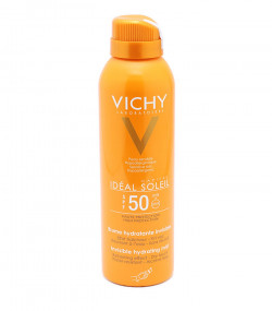 Chai xịt chống nắng phun sương lâu trôi Vichy Idéal Soleil Invisible hydrating mist SPF50 UVB+UVA