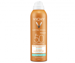 Kem chống nắng toàn thân dạng xịt Vichy Idéal Soleil Invisible hydrating mist SPF50