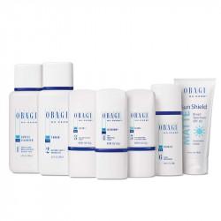 Bộ sản phẩm chống lão hóa, làm trắng da, trị nám cho da khô Obagi Nu Derm System for Normal to Dry Skin
