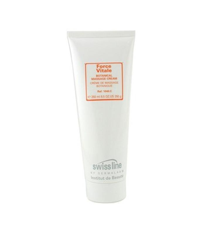 Kem mát xa chiết xuất thực vật Swissline Force Vitale Botanical Massage Cream (Salon Size) Skincare