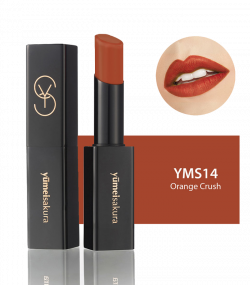 Son Lì Matte Revolution Yumeisakura Orange Crush YMS14 - Cam Đất