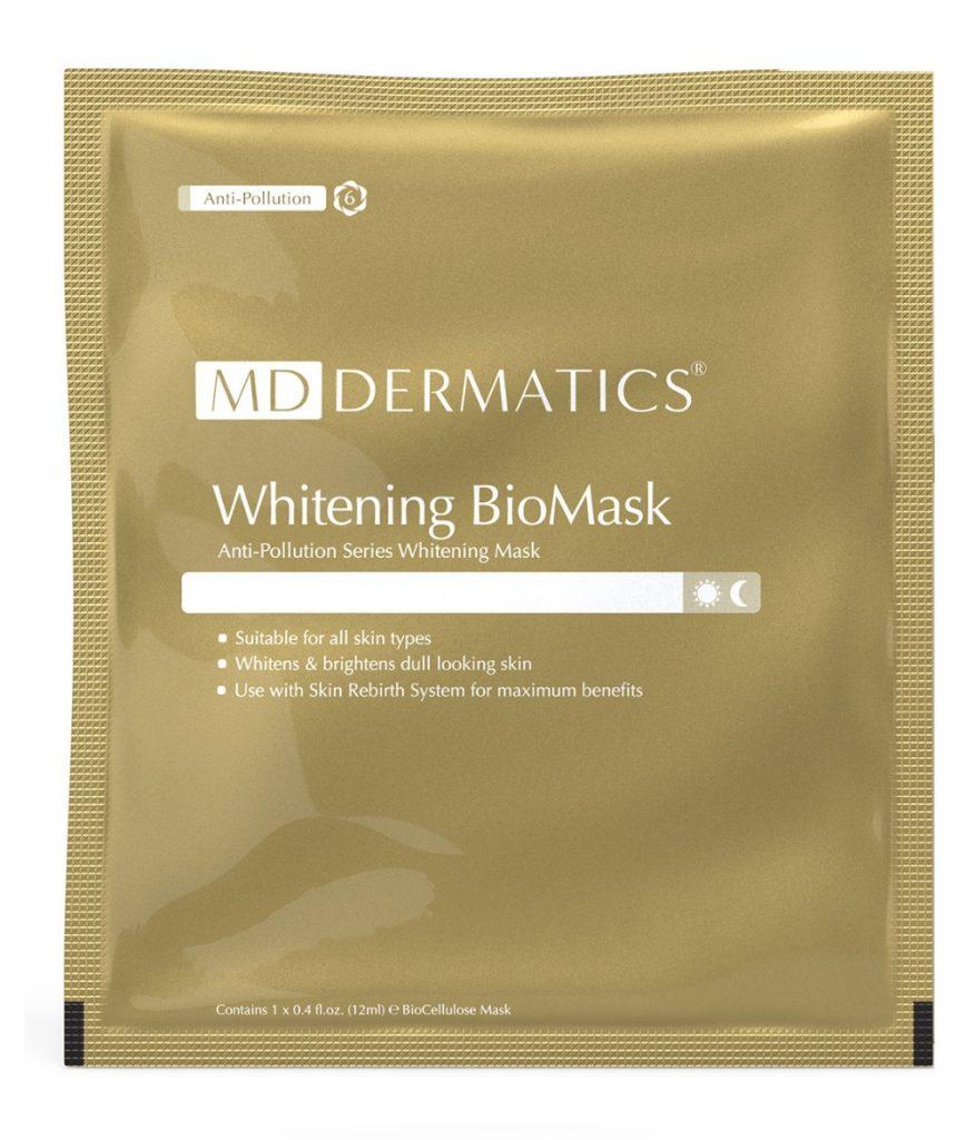 MẶT NẠ WHITENING BIOMASK MD DERMATICS (Trắng sáng da)