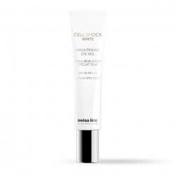 Sữa dưỡng chống nắng cho mắt - Swissline Cell Shock White Brightening Eye Veil SPF 50+++