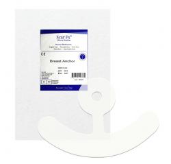 Miếng dán xóa mờ sẹo phẫu thuật ngực Rejuvaskin Scar FX Breast Anchor Silicone Scar Sheets (Hình mỏ neo)
