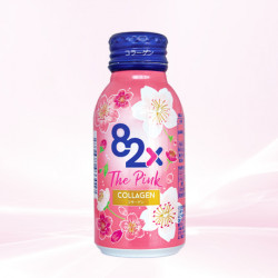 Nước uống 82x The Pink Collagen lốc 10 chai x 100ml Nhật
