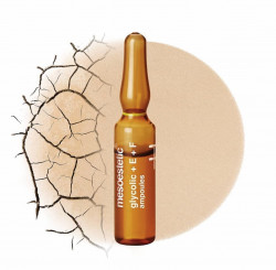 Ampoules giúp tái tạo và tẩy da chết nhẹ nhàng dành cho da tối màu Glycolic + E + F Ampoules