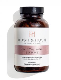 Viên uống giảm mụn ngừa thâm Hush & Hush Skincapsule CLEAR+