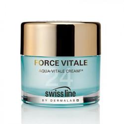 Kem tiếp nước cấp tốc Swissline Aqua Vitale Cream 24