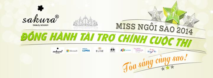 Mỹ Phẩm Sakura-Đồng hành cùng cuộc thi Miss Ngôi Sao 2014