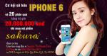 Mua Sakura, mang Iphone 6 về nhà cùng Hoa Anh Đào