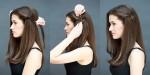 8 kiểu tóc 10 giây cực xinh bạn không nên bỏ lỡ