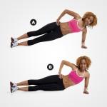5 động tác đơn giản giúp loại bỏ mỡ vòng eo