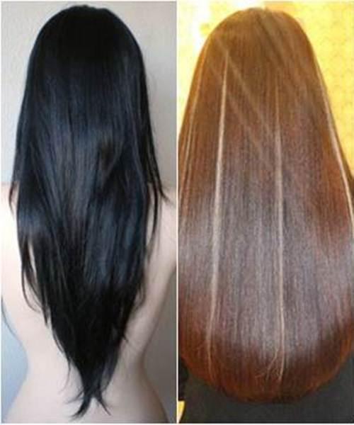 Biến tóc đen thành tóc vàng trong tích tắc chỉ cần 5k chanh tươi