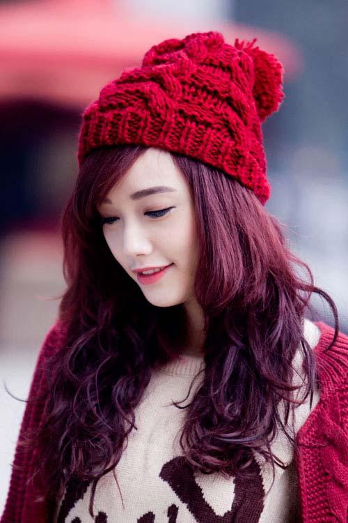 Bốn màu tóc hot nhất mùa đông cứ nhuộm là sáng da cho mọi cô nàng