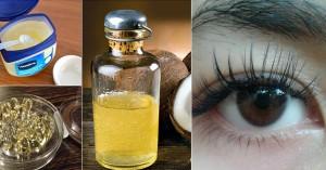 Trộn vitamin E và Vaseline giúp lông mi dài, cong, đen nháy tự nhiên chỉ sau 7 ngày