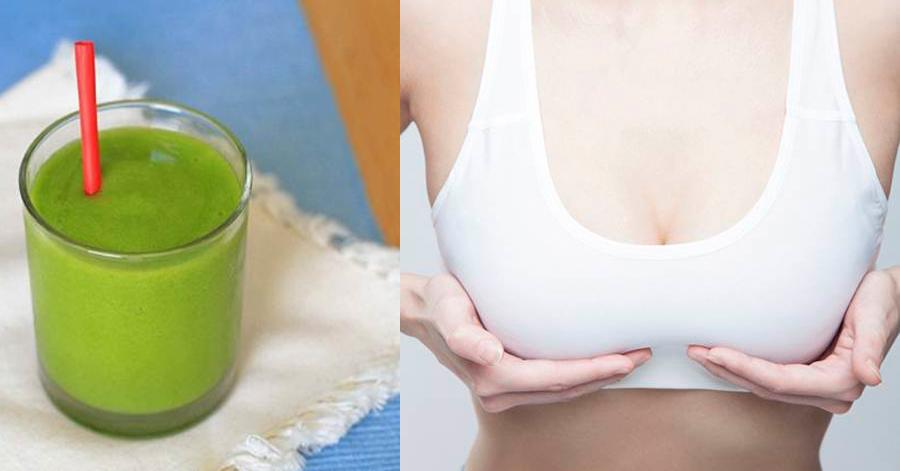 Nửa quả đu đủ xanh có thể giúp bạn cải thiện được vòng 1 từ 3 – 5 cm
