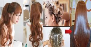 Không cần thuốc nhuộm hay ra tiệm, bạn vẫn có thể sở hữu mái tóc nâu vàng siêu đẹp nhờ thứ này đây