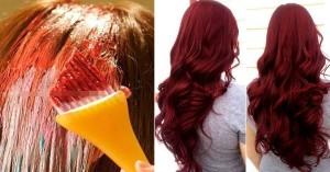 """Chuẩn bị 1 củ dền đỏ rồi nhuộm theo cách này, màu lên chuẩn """"y chang"""" salon mà không lo hóa chất, không sợ rụng tóc"""