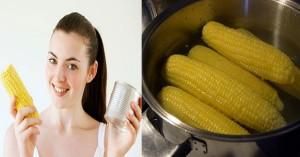 Ăn một quả bắp ngô liên tục trong 7 ngày vào mỗi buổi sáng, làn da bạn sẽ sáng lên, cân nặng sẽ giảm xuống
