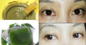 Mắt thâm như gấu trúc cứ dùng bột rau câu với trà xanh theo cách này là sạch hết, da căng mịn luôn