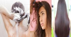 Cách gội đầu chỉ mất 1 phút mà tóc vẫn suôn mượt hơn cả dưỡng ở Salon