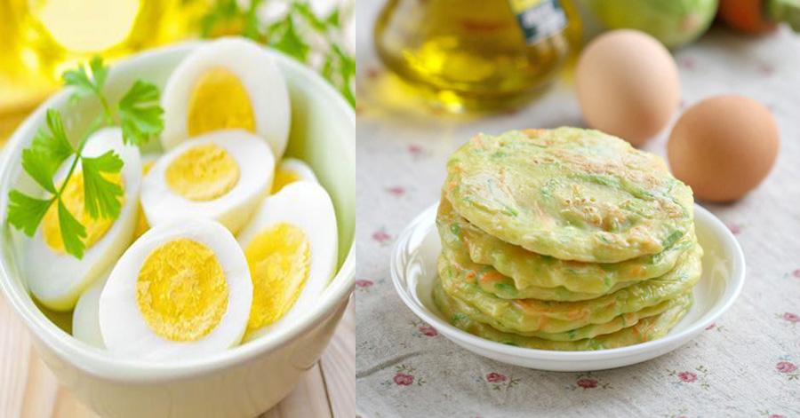 4 món ăn thần thánh giúp giảm cân từ 1 quả trứng