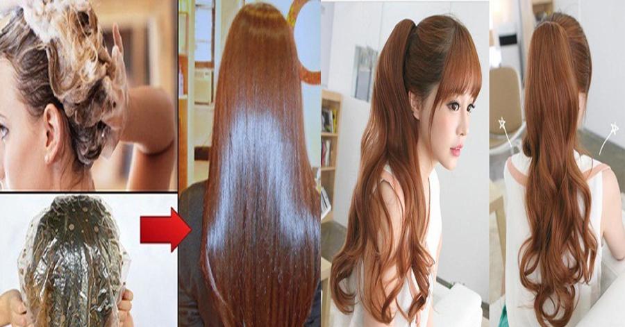 Không cần thuốc nhuộm hay ra tiệm, bạn vẫn có thể sở hữu mái tóc nâu vàng siêu đẹp mềm mượt