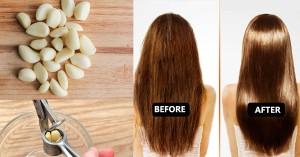 Với cách này, tóc dày, đẹp, hết rụng trong 7 ngày chỉ bằng 1 củ tỏi