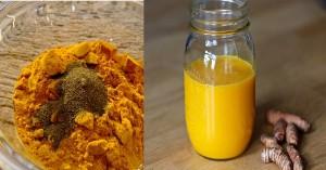 Bột nghệ đun với thứ này pha uống, không chỉ giảm cân mà còn giảm đau, chống ung thư