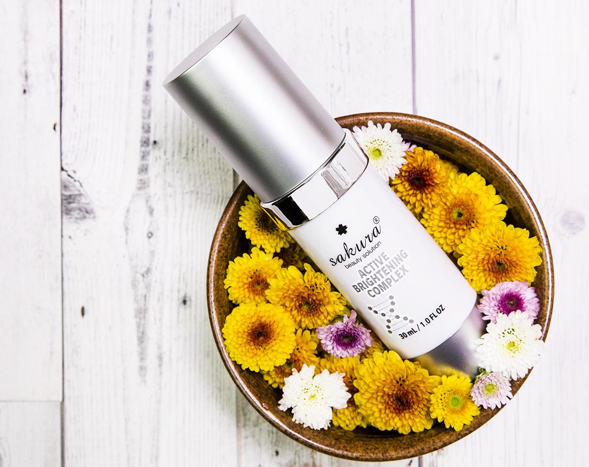 Trị nám da mặt hiệu quả từ Enzyme Sakura Active Brightening Complex