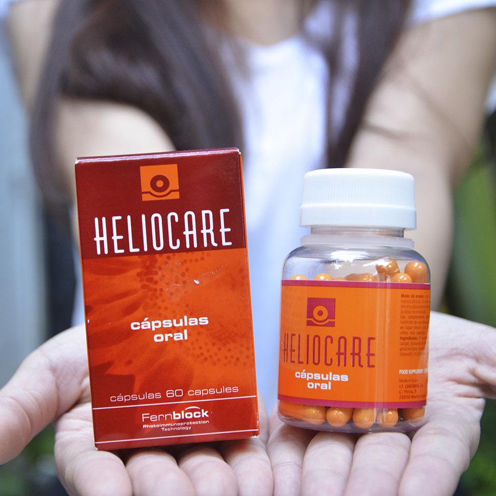 Mua viên uống chống nắng Heliocare Oral ở đâu chính hãng?