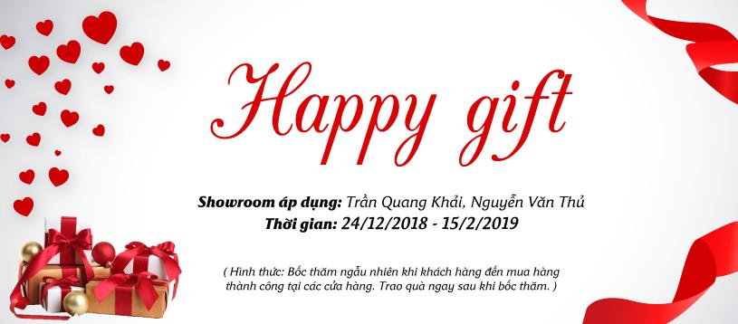 """HAPPY GIFT – """"Gõ Cửa"""" Showroom Hoa Anh Đào, Nhận Ngay Quà Tặng Cực Đã!"""