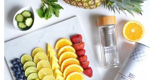 Thực đơn 7 NGÀY giảm mỡ thừa thần tốc với nước detox từ trái cây, rau củ