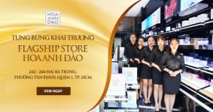 Nhiều trang báo đưa tin sự kiện ra mắt Flagship Store Hoa Anh Đào