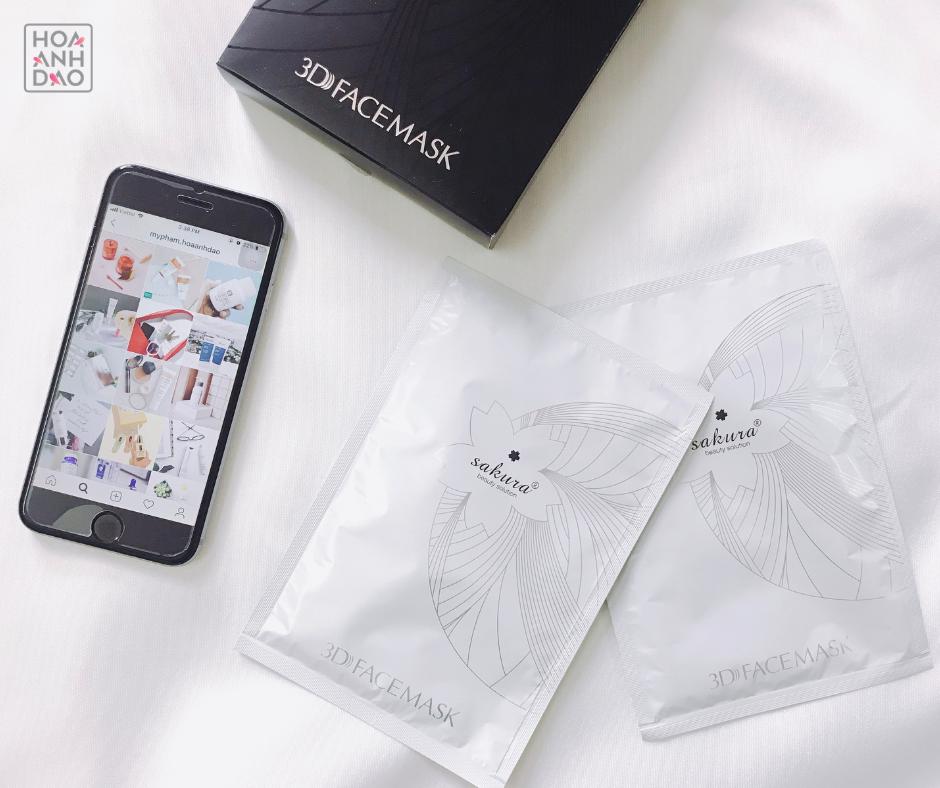Sakura 3D Face Mask - Giá như thế có quá đắt đỏ cho một chiếc sheetmask?